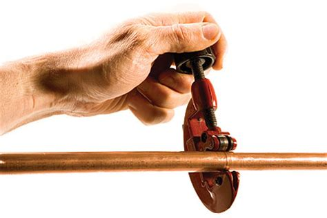 Cutting Plumbing Pipe by How To Cut Copper Pipe Nc Plumbers