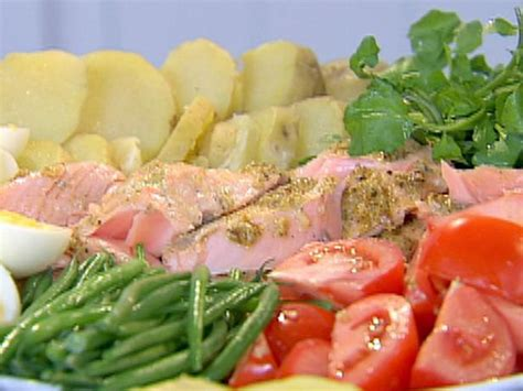 ina garten recipe roasted salmon nicoise platter recipe ina garten food