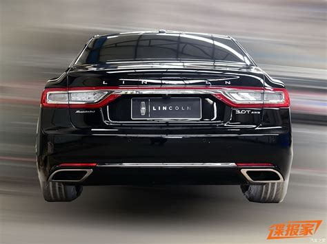 lincoln presidential china this is your 2017 lincoln continental presidential