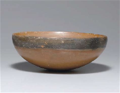 painted pottery bowl neolithic period yangshao
