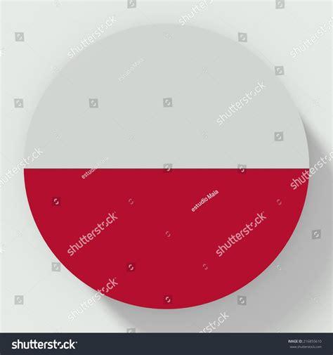flat design indonesia button flat design indonesia flag stock illustration