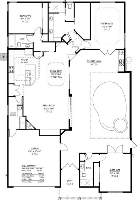 floor plans with pool courtyard house plans with pool indoor outdoor living in