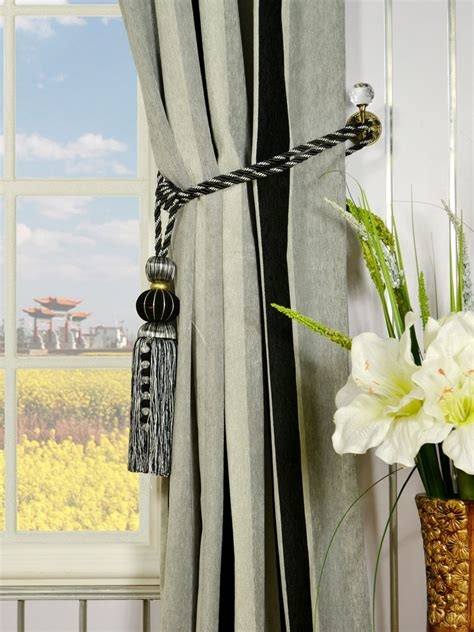 how to install curtain tie backs how to hang curtain tie backs curtain menzilperde net