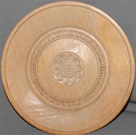 Decorative Plates by Vintage Carved Floral Wood Decorative Plate Ebay