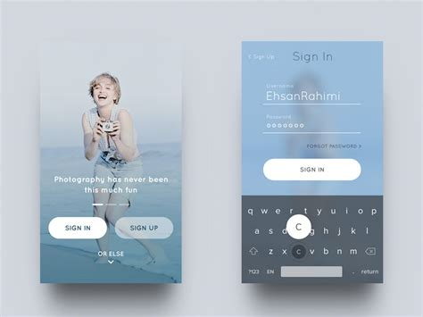 home screen design inspiration fresh ui inspiration in the era of google material and