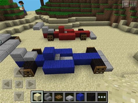 minecraft race car race cars in minecraft minecraft how to make a race car