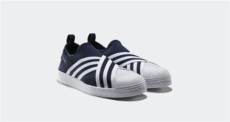 Adidas Superstar Slipon X White Mountaineering For white mountaineering x adidas superstar slip on drops next week kicks