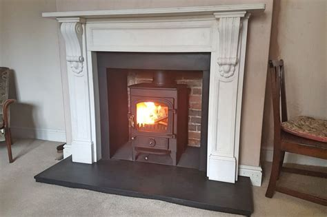 Fireplaces Oxfordshire by 25 Best Ideas About Slate Hearth On Wood