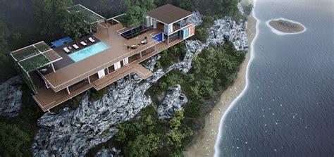 cliff side house cliffside house interior design ideas
