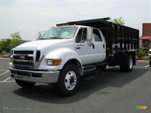 2008 oxford white ford f750 duty xlt chassis crew