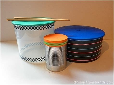How To Make A Paper Drum Set - drums
