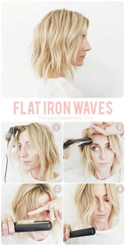 how do you use straighteners on a short side fringe the 11 best flat iron tricks for the hair flat iron