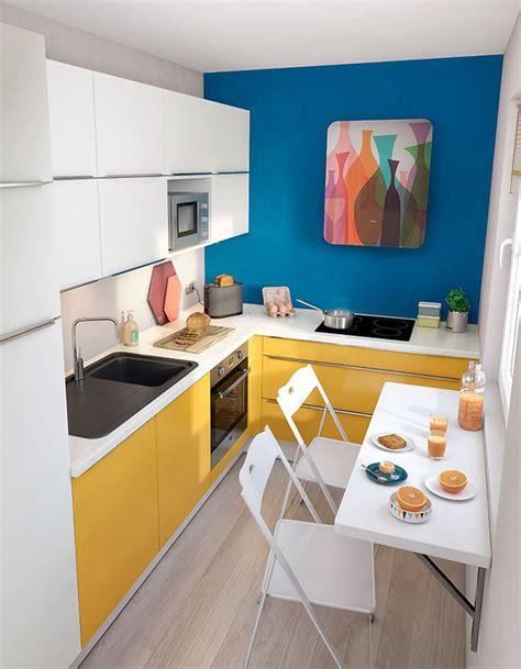 quelle couleur mettre dans une cuisine simple jouez avec la couleur pour dynamiser luespace with
