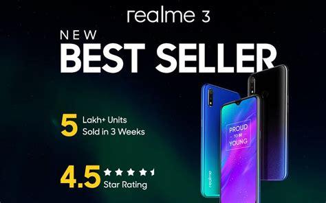 realme  crosses  lakh    weeks  sale date