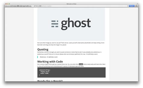 creator theme ghost how to create a theme for ghost science and technology