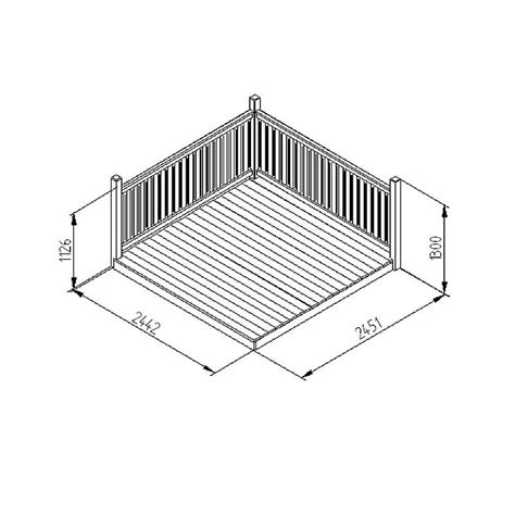 decking kits for a small area in stock now greenfingers