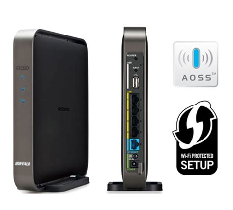 Router Buffalo wzr d1800h airstation 1750 gigabit dual band router