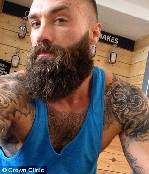 Looks Like Calum Best Is A Coke by Calum Best Ditches Beard Ss He Prepares For Third Hair