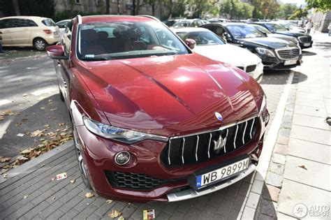maserati levante red maserati levante s 30 august 2016 autogespot