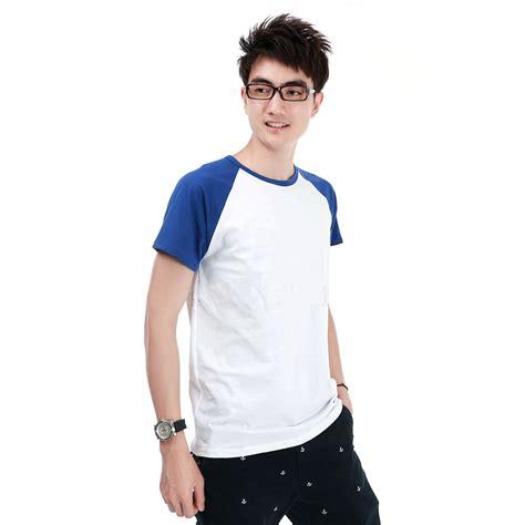 Pakaian Kaos Pria Oneck kaos polos katun pria o neck size m 86205 t shirt blue jakartanotebook