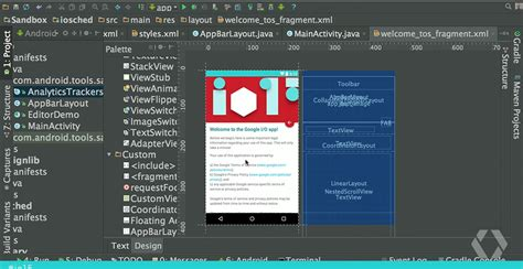 android studio list layout android studio 1 3 layout preview blue print