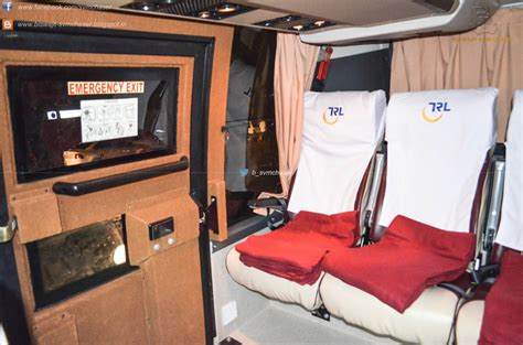 Kesineni Sleeper Inside interiors of telsang travels volvo b9r multiaxle i shift