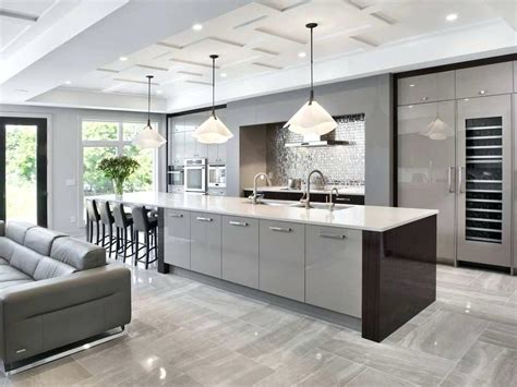 impressive contemporary kitchens with appealing on kitchen