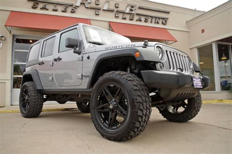 Jeep Wrangler Unlimited Lifted For Sale 2014 Jeep Wrangler Unlimited Rubicon Lifted For Sale 70