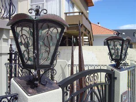 wrought iron fence lighting lighting 187 classic iron wrought iron gates fences
