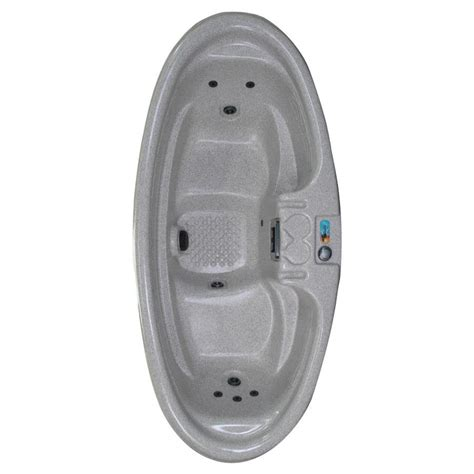 2 person bathtubs shop qca spas 2 person oval hot tub at lowes com