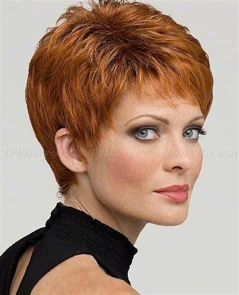 red short cropped hairstyles over 50 short curly pixie haircut for women 2017 2018 best