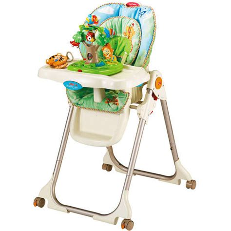 High Chair Prices fisher price rainforest healthy care high chair walmart