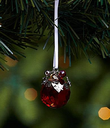 swarovski festive ornament dillards christmas pinterest
