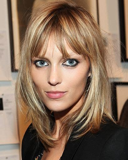 great haircuts for fine hair with wide jaw line bangs on fine thin hair google search hair pinterest