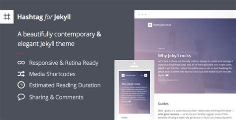 best themes for jekyll 15 best responsive jekyll themes tutorial zone