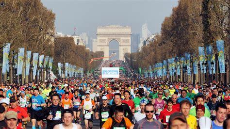 marathon de paris une  sous haute surveillance
