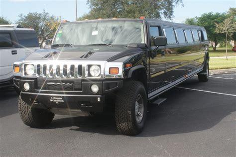black hummer limousine black hummer limo orlando black hummer limo rental orlando