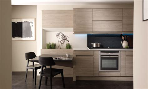 Kitchen Paint Ideas Oak Cabinets remo elm handleless fitted kitchens wigan