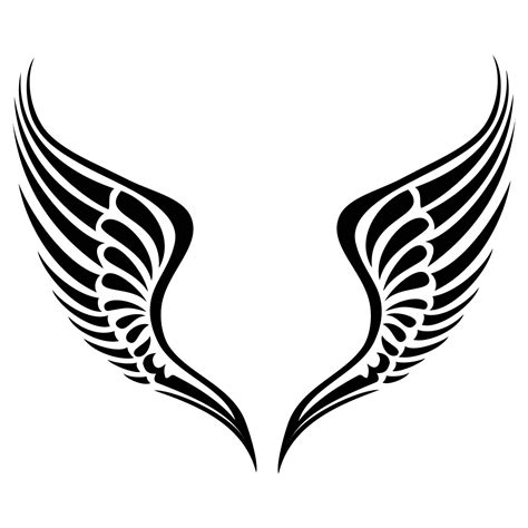 simple tattoo angel wings simple angel wings drawing easy to draw angel tattoos