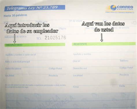 telegrama de renuncia correo argentino taringa como renunciar bien a tu trabajo info taringa