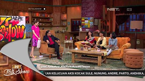 Ini Talk Show ini talk show 31 januari 2015 part 4 4 melanie putria