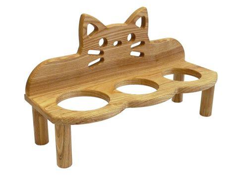 cat table 楽天市場 ねこ家具 本格木製家具 猫のお食事テーブル ねこテーブル タイムインハート