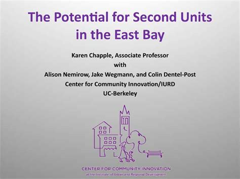california labor code section 510 karen chapple the potential for second units in the east