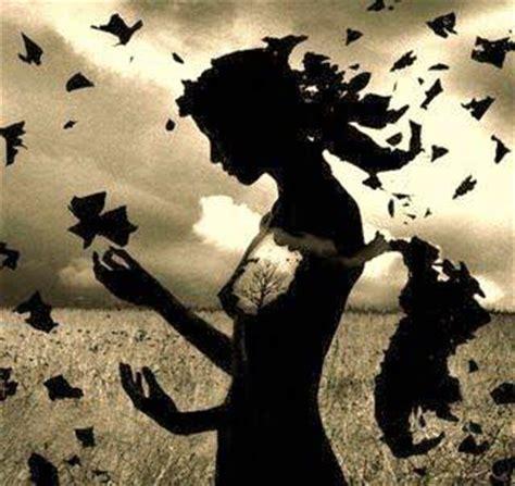 imagenes mariposas tristes mujer en oto 241 o paperblog
