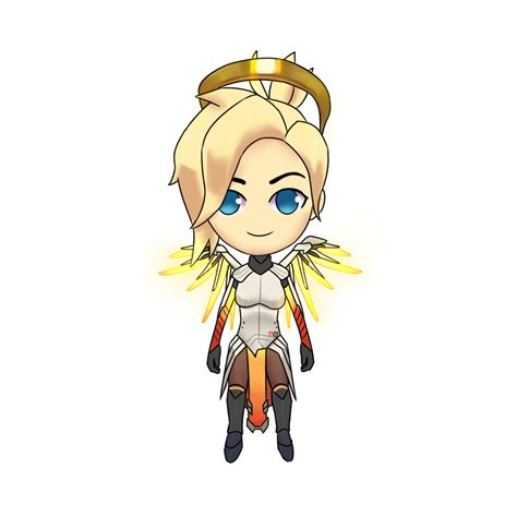 collection   mercy drawing chibi   ui