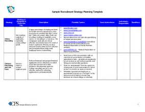recruiting strategy template recruitment strategy template best business template