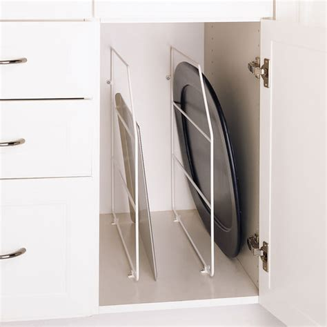 kitchen cabinet divider rack cabinet organizers kitchen cabinet wire tray dividers