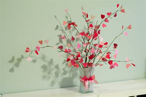 scraptherapy heart tree branches tutorial