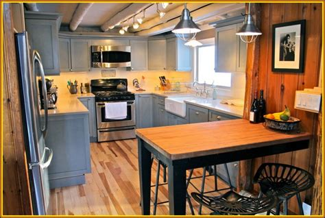 rustic modern kitchen cabinets kitchen modern rustic kitchen design with gray u shaped