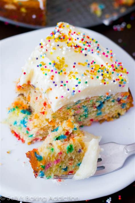 easy homemade funfetti cake sallys baking addiction